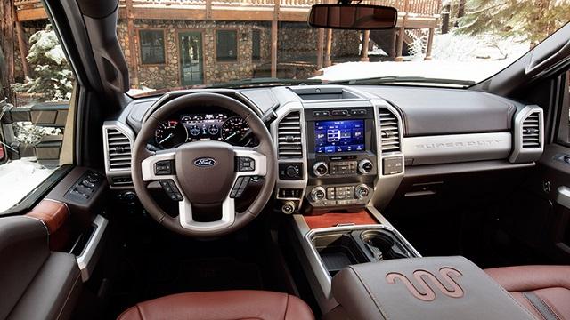 2021 Ford F-250 interior