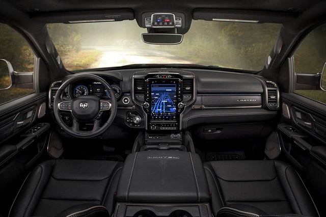 2021 ram 1500 limited interior