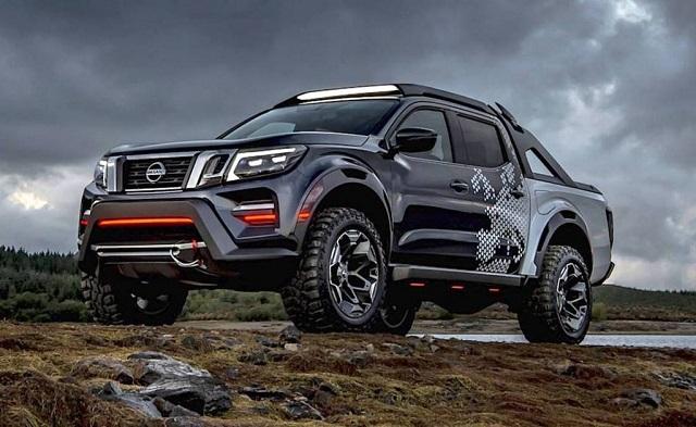 2021 Nissan Frontier Diesel concept