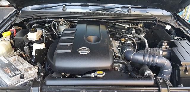 2021 Nissan Frontier Diesel engine