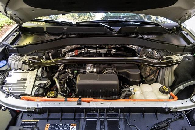 2021 Ford Ranger Hybrid