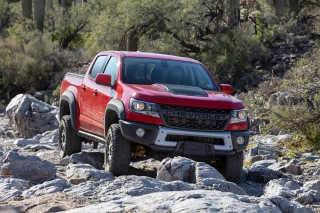 2021 Chevy Colorado ZR2 off road