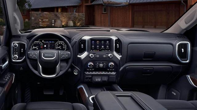 2021 GMC Sierra 1500 Denali interior