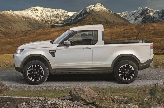 2021 Land Rover Defender pickup truck concept