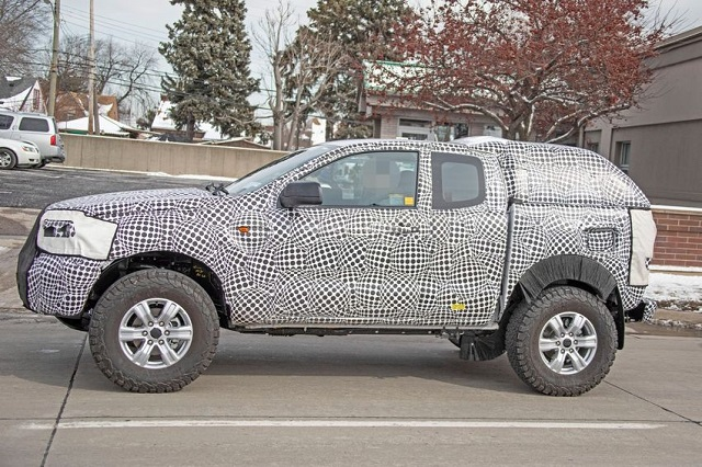 2021 Ford Maverick spy photos