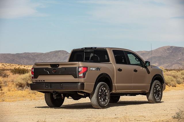 2022 Nissan Titan Pro-4X price