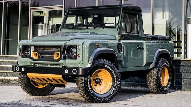 2022 Land Rover pickup