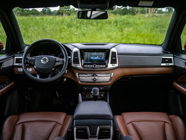 2022 SsangYong Musso interior