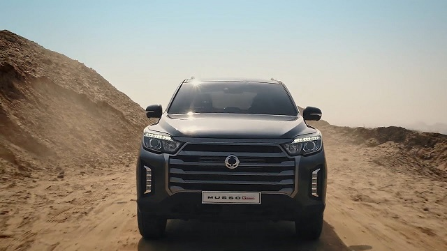 2022 SsangYong Musso
