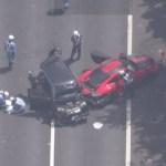 【首都高速】ポルシェ911 GT2RSがbBに追突 bB女性は車外に投げ出される bB夫婦死亡  ★2  [雷★]