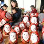 【'!'】 竹田市の伝統工芸品、「姫だるま」をごらん下さい