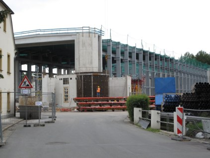 New production hall under construction