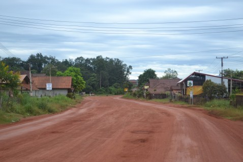 Typical Lao road