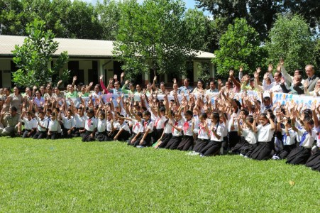 Hands up for Global Handwashing Day