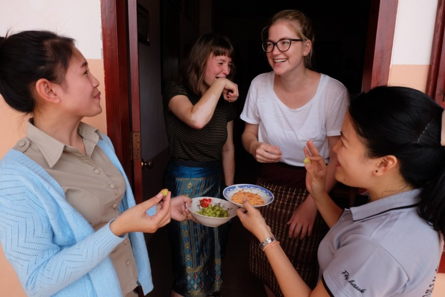 The real Lao food experience