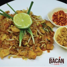 One of the Asian dishes on the menue, Pad Thai