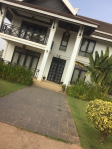 Our new home: The villa