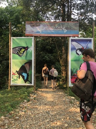 Entrance to the Kuang Si Butterfly Park