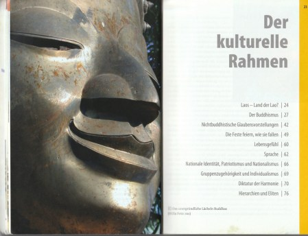 """Section about the """"cultural frame"""" of the country - excerpt from """"KulturSchock Laos"""", © 2005 Reise Know-How Verlag Peter Rump GmbH"""