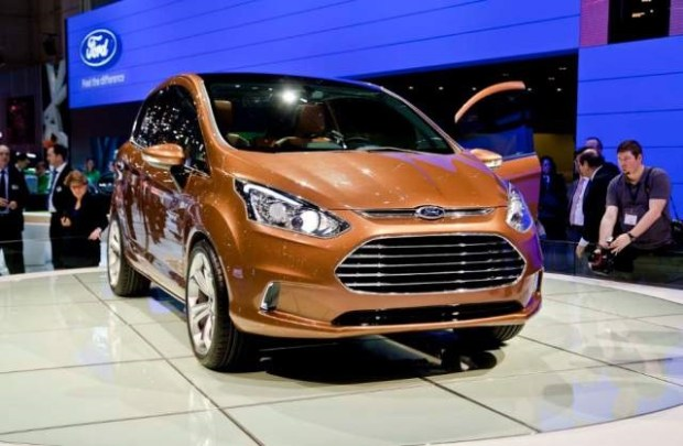 2019 Ford B-Max front view