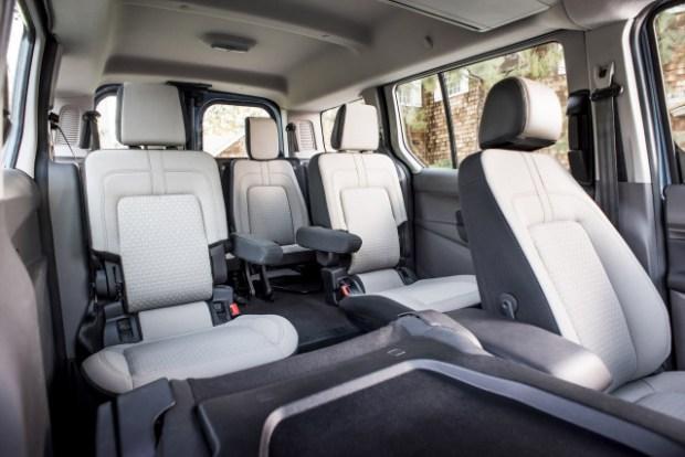 2019 Ford Transit Wagon interior