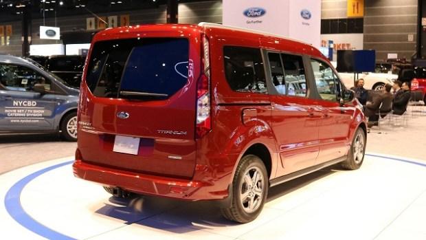 2019 Ford Transit Wagon rear view