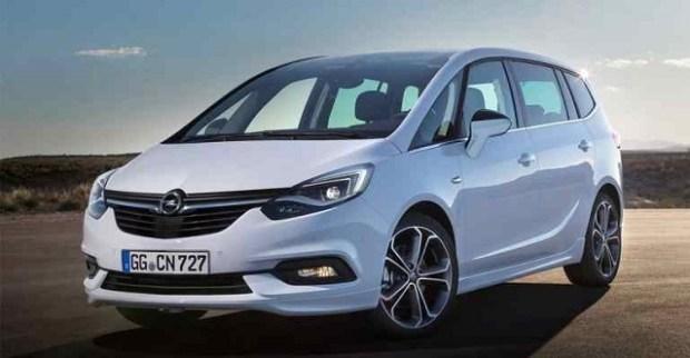 2019 Opel Zafira front view