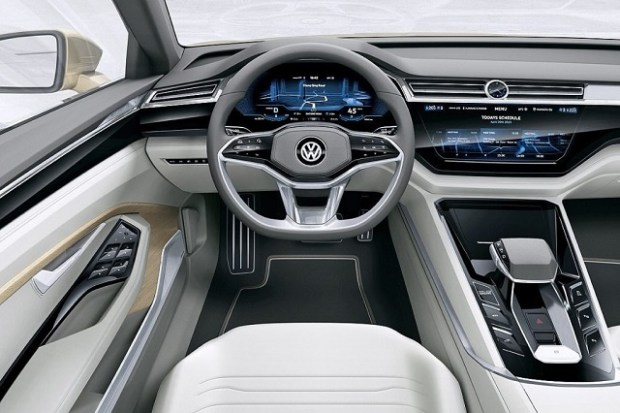 2019 VW Touran interior