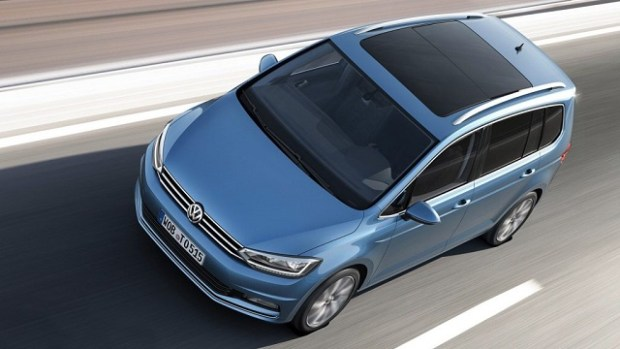 2020 VW Touran top view