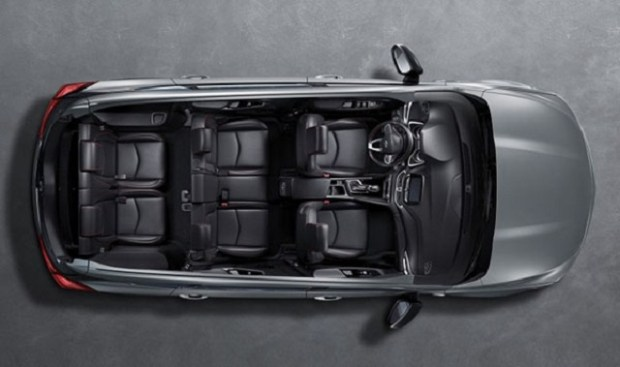 2019 Chevy Orlando top view