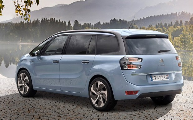 2020 Citroen C4 Grand Picasso rear view