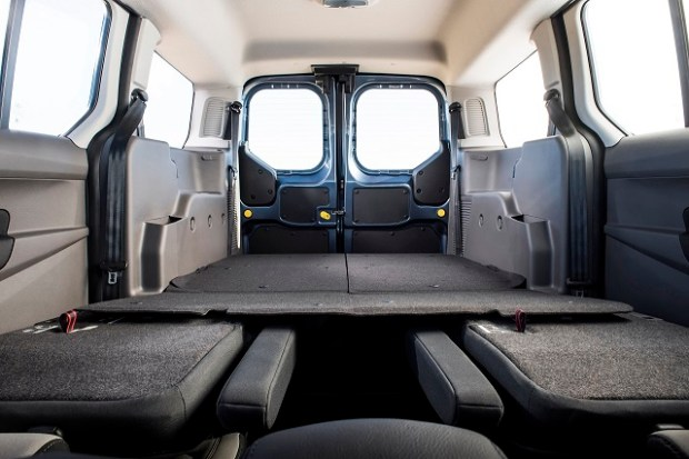 2020 Ford Transit Wagon interior