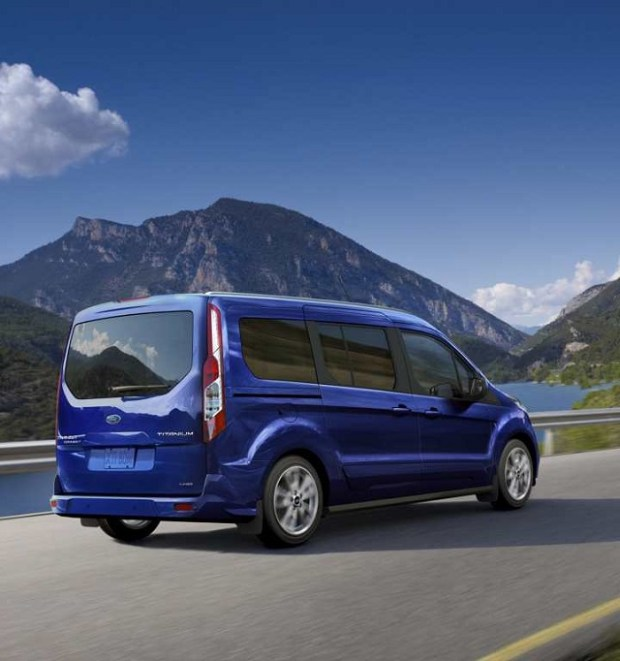 2020 Ford Transit Wagon rear view