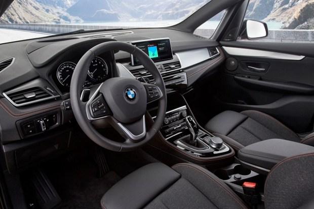 2019 BMW 2 Series Gran Tourer interior