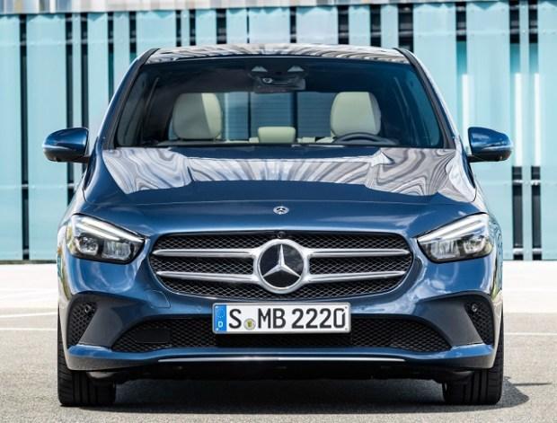 2019 Mercedes-Benz B class front view
