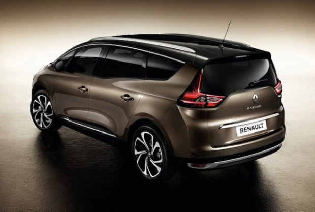 2019 Renault Grand Scenic rear view