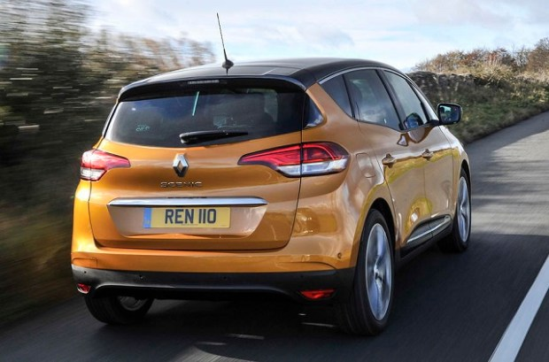 2019 Renault Scenic rear view