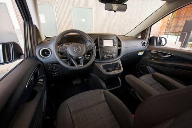 2021 Mercedes-Benz Metris Interior