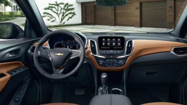 2020 Chevy Orlando interior
