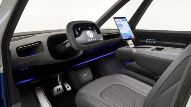 2022 VW I.D. Buzz Cargo interior