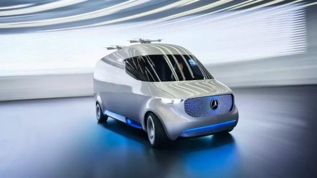 2021 Mercedes-Benz Vision exterior