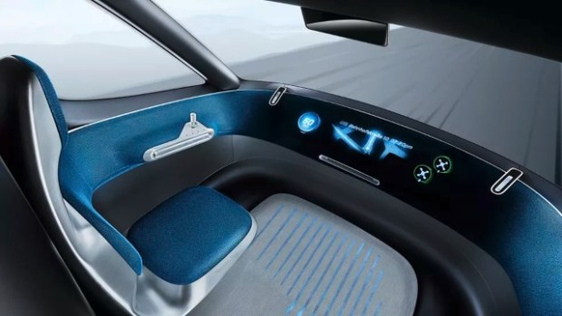2021 Mercedes-Benz Vision interior