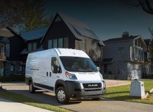 2021 Ram Promaster facelift