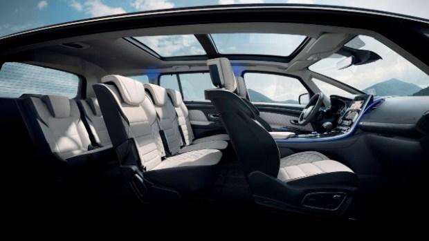 2021 Renault Espace interior