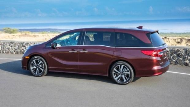 2022 Honda Odyssey redesign