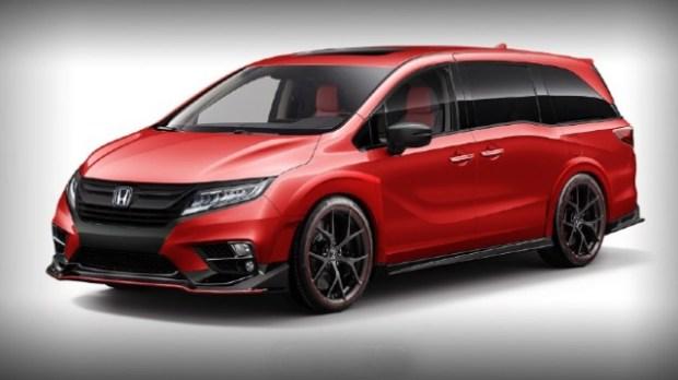 2021 Honda Odyssey Type R redesign