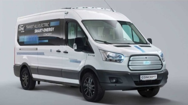 2021 Ford Transit electric