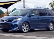 2022 Toyota Sienna redesign