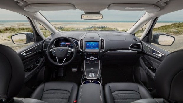2021 Ford Galaxy Hybrid interior