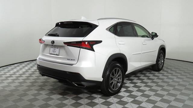 2019 Lexus NX 300 rear view